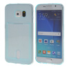 MOONCASE чехол для Samsung Galaxy S6 Flexible Soft Gel TPU Silicone Skin Slim Durable With Card Slot Cover Blue