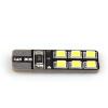 В T10 12SMD 2835 чип 2.4 W автомобиля светодиодные лампы авто освещение салона белое canbus Лампа лампы освещение