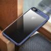 Фото IPAKY 7 8 Plus Slim Прозрачный PC TPU Силиконовый чехол для телефона Coque для iPhone 7 8 Case силиконовый чехол для iphone 7 ударопрочный tpu armor case прозрачный 0l 00029776
