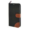 MOONCASE Galaxy S5 , Leather Wallet Flip Card Holder Pouch Stand Back ЧЕХОЛ ДЛЯ Samsung Galaxy S5 Black mooncase galaxy s5 leather wallet flip card holder pouch stand back чехол для samsung galaxy s5 dark blue