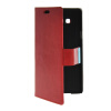 MOONCASE Slim Leather Side Flip Wallet Card Slot Pouch with Kickstand Shell Back чехол для Samsung Galaxy A7 Red синий slim robot armor kickstand ударопрочный жесткий корпус из прочной резины для vivo x9plus