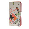 MOONCASE Butterfly style Leather Wallet Flip Card Slot Stand Pouch чехол для HTC Desire 620 A02 htc butterfly x920d с поддержкой карты памяти в твери