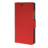 MOONCASE Simple Leather Flip Wallet Card Slot Stand Back чехол для Huawei Ascend P8 lite Red luxury stand flip