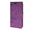 MOONCASE Magic Girl lovely Flip Pouch Card Holster PU Leather Wallet чехол для HTC Desire 320 Purple htc desire 650