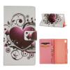 MOONCASE ЧЕХОЛДЛЯ Sony Xperia Z4 Flip PU Leather Fold Wallet Card Slot Kickstand Back [Pattern series] /a07 mooncase чехол для sony xperia m4 aqua wallet card slot with kickstand flip leather back hot pink