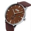 купить skmei 9083 мужчин моды случайные кварцевые часы классического подлинного кожаным ремешком недорого
