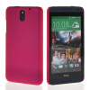 MOONCASE Hard Rubberized Rubber Coating Devise Back чехол для Htc Desire 610 Hot pink