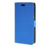MOONCASE Litch Skin Leather Card Slot Wallet Bracket Back чехол для HTC Desire 320 D320 Blue htc desire 320 8gb vanilla white