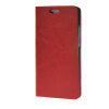 MOONCASE Leather Side Flip Wallet Card Holder Stand Shell Pouch ЧЕХОЛ ДЛЯ Huawei Ascend P8 Red ecostyle shell чехол флип для huawei ascend d2 black