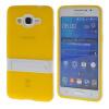 MOONCASE Желе Цвет силиконовый гель ТПУ Тонкий с подставкой обложка чехол для Samsung Galaxy Grand Prime G5308 желтый силиконовый чехол для samsung galaxy j2 prime grand prime 2016 df scase 34