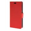 MOONCASE Simple Leather Flip Wallet Card Slot Stand Back чехол для HTC Desire 320 Red htc desire 320 8gb vanilla white