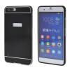 купить MOONCASE Huawei 6 Plus Случай 2 В 1 жесткий бампер вставить обложка чехол для Huawei Honor 6 Plus черный недорого