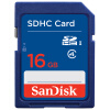 Карта памяти SanDisk (SanDisk) 16GB SDHC Class4 SD карты yinglite 22 слотов синий чехол для карты памяти sd card memory карты памяти чехол держатель карты sd случай
