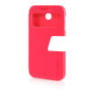 MOONCASE Ultra Slim Leather Side Flip Pouch Stand Thin Shell Back ЧЕХОЛ ДЛЯ HTC Desire 510 Hot pink