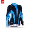 NUCKILY Летний женский велосипед Джерси Дышащий длинный рукав Велоспорт Одежда Custom Color Спортивная одежда GC003