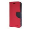 MOONCASE Cross pattern Leather Flip Wallet Card Slot Stand Back чехол для Sony Xperia M4 Hot pink mooncase чехол для sony xperia m4 aqua wallet card slot with kickstand flip leather back hot pink