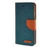 MOONCASE iPhone 6 4.7 , Leather Flip Wallet Card Holder Pouch Stand Back ЧЕХОЛ ДЛЯ Apple iPhone 6 ( 4.7 inch ) Green jeans cloth card holder stand pu leather shell for iphone 6s 6 4 7 inch pink