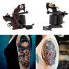 Пользовательские татуировки Machine Gun для Лайнер & Shader 10-обертывание катушек Basic Starter Set 4 pcs liner shader tattoo rotary motor gun machine kit set swashdrive