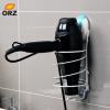 ОРЗ стены Фен держатель настенное крепление присоски Фен стенд поддержка ванной комнаты хранения волос сушилка стеллаж