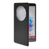 MOONCASE View Window Leather Side Flip Pouch Stand Shell Back ЧЕХОЛДЛЯ LG G3 Black  g case view window leather flip stand shell for iphone 7 with touch slide button black