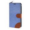 MOONCASE Alcatel One Touch POP C7 , Leather Flip Card Holder Pouch Stand Back ЧЕХОЛ ДЛЯ Alcatel One Touch POP C7 Blue alcatel one touch pop d5 5038d fashion blue