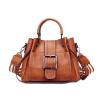 Сумки для женщин 2018 Новая мода Кожа PU Сумки Crossbody сумка для женщин Vintage ковш Сумка Сумка Ladies сумки эко пак дз сумка