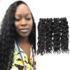 7A Малайзийская вода для волос Virgin Water 4Pcs Мокрые и волнистые человеческие волосы Weave Дешевый девичий малазийский кудрявый парик для волос Предложения Kinky wave дешевый