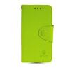 MOONCASE Classic cross pattern Leather Side Flip Card Slot Pouch Stand Shell Back ЧЕХОЛДЛЯ Samsung Galaxy S5 Mini Green камуфляжный защитный чехол дляsamsung galaxy s5