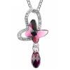 Кристалл ожерелья бабочки женщины от австрийских ювелирных изделий ожерелья капель воды ювелирных изделий подарка высокого качества 4642
