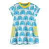 Детская одежда для девочек Летняя одежда для детей 2018 Платье для беременных женщин-принцесса Вестидос для детей Единороганные платья для детей Dropshipping одежда для детей