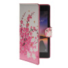 MOONCASE Plum flower style Leather Side Flip Wallet Card Slot Stand Pouch чехол для Huawei Ascend P7 mooncase flower style leather side flip wallet card slot stand pouch чехол для huawei ascend y635 a01