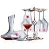 Лорна (РОНА) европейский импорт высокий красное вино очки костюм Подарочный набор шесть комплектов (520ml красное вино * 6) домашние подарки и прекрасное вино стойки графин 1500ml колено трубы grand line d90 60° красное вино металлическое