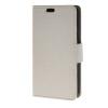 MOONCASE Мягкая кожа PU кожаный чехол бумажник флип карты отойти чехол для LG Joy H220 Белый чехол flip case для explay joy tv черный