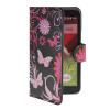 MOONCASE Butterfly style Leather Side Flip Wallet Card Slot Stand Pouch чехол для LG G2 Mini luxury stand flip