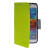 MOONCASE Classic cross pattern Leather Side Flip with Kickstand Shell Back ЧЕХОЛ ДЛЯ Samsung Galaxy S5 I9600 Green камуфляжный защитный чехол для samsung galaxy s5