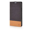 MOONCASE Canvas Design Leather Side Flip Wallet Pouch Stand Shell Back ЧЕХОЛ ДЛЯ Samsung Galaxy S5 Coffee mooncase soft silicone gel side flip pouch hard shell back чехол для samsung galaxy s6 grey