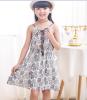 Корейское платье девушки, летнее платье, детское платье, 2018 год, новый майка для детей, юбка для недоуздок, платье для пляжной девочки.