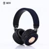 WH BT018 Bluetooth Head-mounted гарнитура музыка спортивный стерео убирающийся USB беспроводной наушник для xiaomi huawei samsung iphone наушник