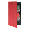 MOONCASE Slim Leather Flip Wallet Card Pouch with Kickstand Shell Back ЧЕХОЛ ДЛЯ HTC Desire 610 Red htc desire 650