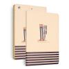 MITI Роскошный кожаный чехол для Ipad 2 Air красочная графика чехол для IPad Нью-Air 2 для Ipad 6 с одной вислоухая высокого качества