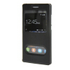 все цены на MOONCASE Huawei Ascend P8 Lite чехол Double Window View Leather Flip Bracket Back чехол Cover Black 01