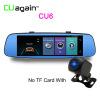 Умный приборный отсек 4G DVR 8 ' Автомобильная GPS-зеркало для Android Wi-Fi ADAS Bluetooth Видеорегистратор Сенсорный экран DVR C видеорегистратор intego vx 410mr