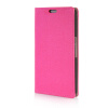 MOONCASE Leather Side Flip Wallet Card Slot Pouch Stand Shell Back ЧЕХОЛ ДЛЯ Google Nexus 6 Hot pink nexus confessions volume two