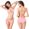 2018Sexy Soild Bikinis Women Swimsuit Бразильский бикини Set Beach Купальный костюм Push Up Swimwear Low Waist Swim Wear ed dh109 soft gum 28pcs teeth standard jaw model medical science educational dental teaching models