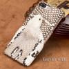 Чехол из натуральной кожи для iPhone 7 8 Plus Чехол для змеиной головки Задняя крышка Половинная упаковка для iPhone 6 6S X Задняя чехол для iphone 6 глянцевый printio сад на улице корто сад на монмартре ренуар