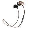 Pulse песня (ара) T1000 беспроводного стерео Bluetooth гарнитуры спортивного провода ухо Bluetooth гарнитура Bluetooth гарнитура 4.1 Universal Music мокко коричневой