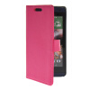 MOONCASE Slim Leather Flip Wallet Card Pouch with Kickstand Shell Back ЧЕХОЛДЛЯ HTC Desire 610 Hot pink htc desire 650