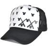 [Супермаркет] Jingdong ожесточенной Гданьск (шведская кроны) MMZ13464 бейсболки Мужчины Женщина Корейского пар Микки голова сетка шапка шляпа прилив Бенн Уайт черный Микки