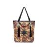 Модный бренд кожаные сумки tote женщин этническая вышивка сумки цветочные вышитые сумки ручной работы высокого качества женщины сумка