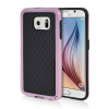 MOONCASE Soft Flexible Silicone Gel TPU Skin Shell Back ЧЕХОЛ ДЛЯ Samsung Galaxy S6 Pink mooncase soft silicone gel side flip pouch hard shell back чехол для samsung galaxy s6 white